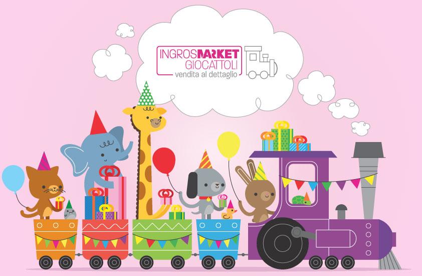 8f3f4a5dc1 Ingros Market: giochi, scuola, party e articoli da regalo | Vendita al  dettaglio